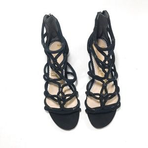 Sam Edelman Black Crisscross Sandals 7